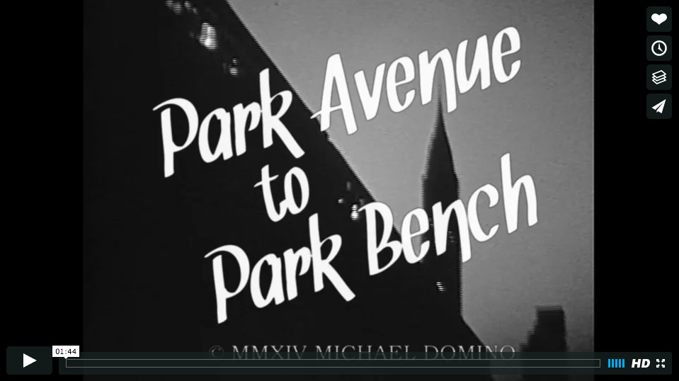 Park Avenue to Park Bench