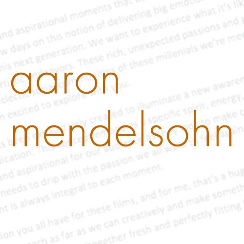 Aaron Mendelsohn – Writer