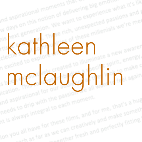 Kathleen McLaughlin – Writer
